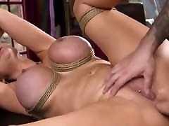 Huge tits Milf is anal nailed in bdsm