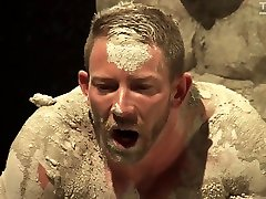 Hunter Marx & Shay Michaels in Mud Wrestling: Shay Michaels And Hunter Marx - KinkMen