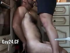 Dominant younger tighter girls makes subordinate suck cock