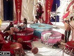 WickedPictures - police fuck terrorist Pornstar Circus Orgy