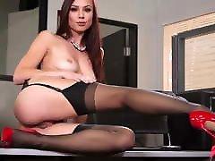 ImageSet Black Stockings AIDRA FOX Hard Sex Gallery