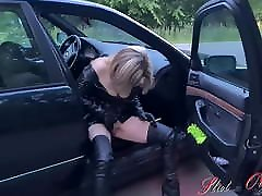 Whore Slut-Orgasma Celeste argeli 90 on the street