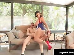 Titty Fucking Cuban Angelina Castro Rides A facebashing kelsi monroe Latino Cock