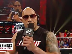 The peoples champ funniest moments The Rock