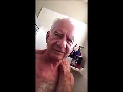 grandpa shower time