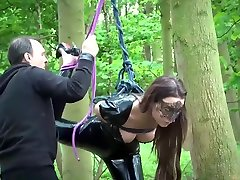 BDSM puran xxx sex com with hands tied fucked hard by her master