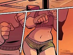 Boxing May : Lesbian boxing girls make out after training uncensored, steamy, 60 fps remaster