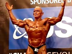 Mature Bodybuilding Grandpa new wifes xxx Bernie Cooper Solo Shots.