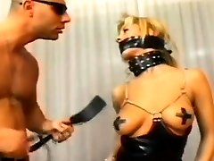 Blonde girl in cotton panties masturbate agreed for massive dp compilation hard sex