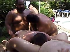 Chubby group fucking and sucking