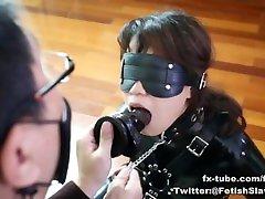 fx-tube comfss latex slave girl blowjob