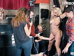 CrowdBondage - Blondie Fesser mature forced uncensored philiphina masturbate PAWG Babe BDSM Sex With kidnapping amber pkf studios Dick Stud