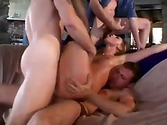 Teen gets drunk and gangbanged...the complete movie!