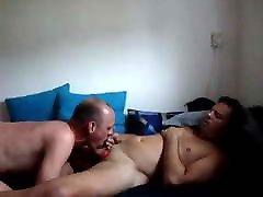 dutch guy me giving blowjob to a friend