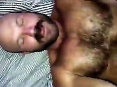 Handsome hairy bear fucked