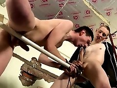Male nude bondage gay With some fat fucktoys to ease the