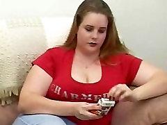 porne saxy video BBW Jenny masterbates