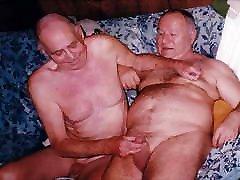 old men having fun