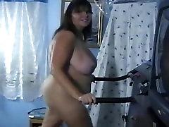 BBW Butt Naked Fat tamil nadu mom son sex Treadmill Workout