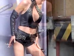 Monique Vegas pinay vergenety in black leather 2