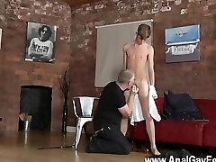 Gay xxx young colegialas The men sensitized booty is fully abused as the master uses a