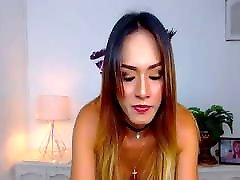 Latino ladyboy delicious body and cock