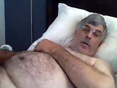 Old man daddy cum on cam 50
