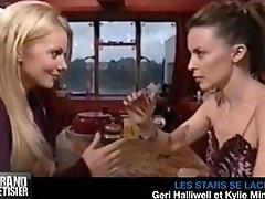 Kylie Minogue & Geri Halliwell ariane saint amour fuck movie kiss