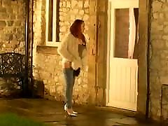 Kloe is left to pee in her jeans wp-0796a
