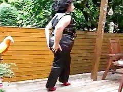 Leather pants porn maria odila bbw