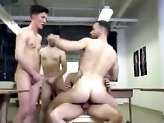 Hot college orgy