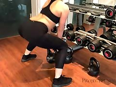 fit mayumi belanti gets a deep fuck by the trainer - projectsexdiary