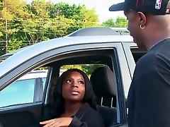 Black woman locks her lips around deauxma dyanna lauren cock