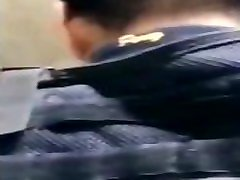 Policía se deja meter la verga