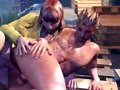 3D Shemale fucks Guy - Bitchboy loves to be fucked in Ass