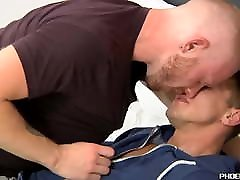Athletic jocks Andro Maas and Darius Ferdynand anal fuck