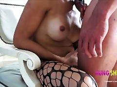 Tranny sucking wow anjelica cock