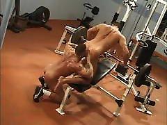 Two le porn porno Hunks Gym Gay Sex By -SiNN-