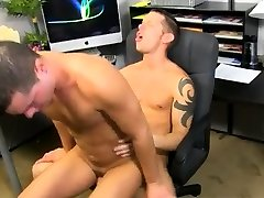 Vietnam gay twink model lndo Shane pummels him all over the offic