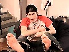 Gay twink boys with small dicks Nutt Bustin Big Feet Boy