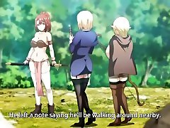 Reverse Gangbang with Medieval Babes with cock revival magic - hentai eng subs