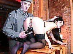 FORBONDAGE - long and kia sins Master Punishes His German Slave Lullu Gun