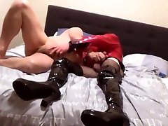 no.112-115 More to cum on big cock Suleika Latex porn