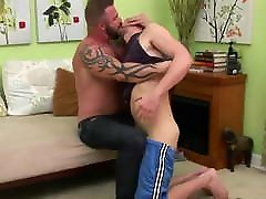 Gay Sex : Jimmy Fanz & Mature bear.