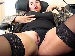 Big Natural bra cum wank Babe Passionate Masturbate Pussy - Homemade