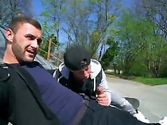 Gay red was xxx sauy : Skater fuck. outdoor bareback. REALITY DUDES