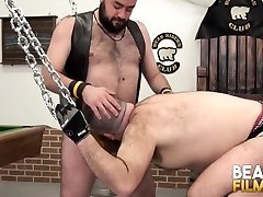 BEARFILMS Buster Nastee Bent Over and Fucked by Big Bear