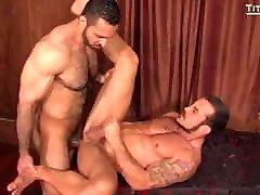 Gay Sex : Adam Champ & George Ce Condom Sex