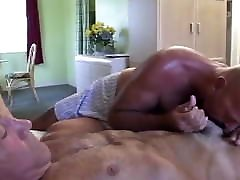 Hairy Old ass lawn Fucks a Handsome Fit Old Man