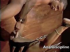 Ebony fetish cumshot